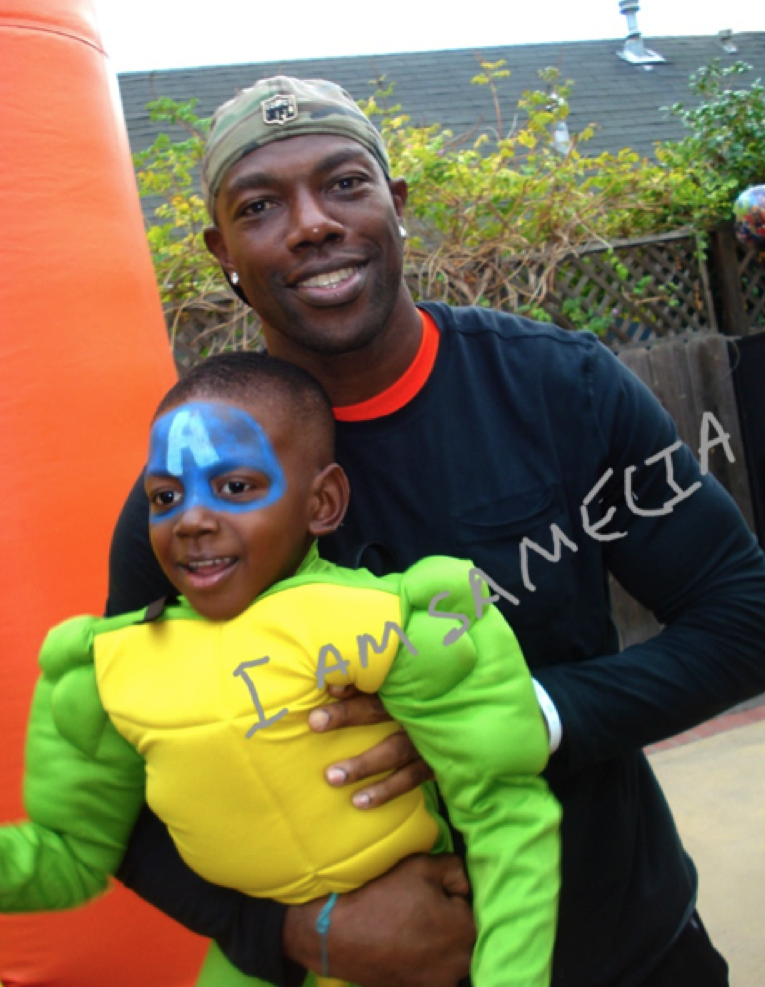Atlin, Terrell Owens, samelia miller, samelia, samelia's world, samelia's world blog, Atlin owens birthday party