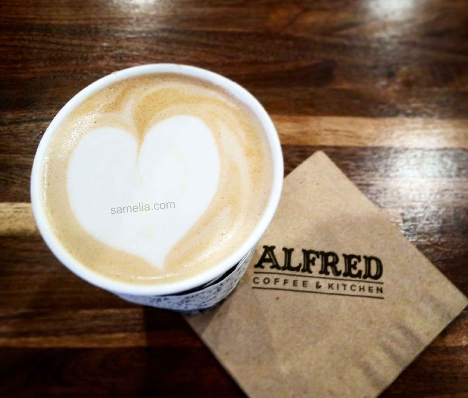 Alfred coffee & kitchen, samelia, love, love life
