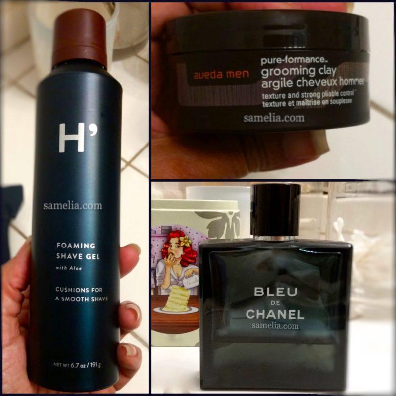 holiday, holiday gifts for men, samelia holiday gifts for men, gifts for men, men, men grooming, harry's, avid, bleu de Chanel,